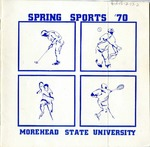 Spring Sports '70 Morehead State University
