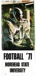 Football '71 Morehead State University