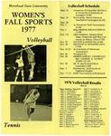 Women's Fall Sports 1977