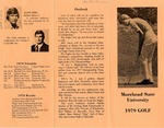 Morehead State University 1979 Golf