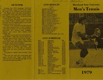 Morehead State University Men's Tennis 1979