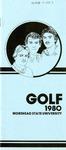 Golf 1980 Morehead State University