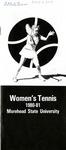 Women's Tennis 1980-81 Morehead State University