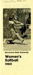 Morehead State University Women's Softball 1980