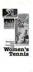 Morehead State University 1982 Women's Tennis