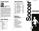 Soccer Morehead State University 1982 Eagles