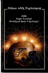 Ablaze with Excitement 1986 Eagle Football Morehead State University