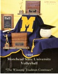 1988 Morehead State University Volleyball