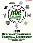1995 Ohio Valley Conference Volleyball Championship Morehead State University