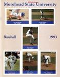 Morehead State University Baseball 1993