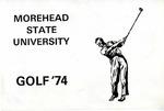 Morehead State Golf 1974