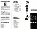 Swimming 1982-1983 Eagles
