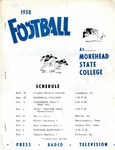 1958 Football at Morehead State College by Morehead State University. Office of Athletics.