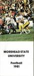 Morehead State University Football 1981