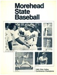 Morehead State Baseball - 1983 Ohio Valley Conference Champions