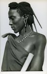 Kenia. Type Massai