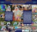Haldeman After School Art Program: Engaging and Challenging Student Creativity