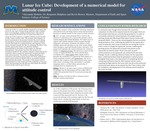 Lunar Ice Cube: Development of a numerical model for attitude control