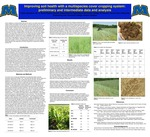 Improving soil health with a multispecies cover cropping system: preliminary and intermediate data and analysis