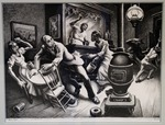 Frankie and Johnnie by Thomas Hart Benton