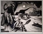 Huck Finn by Thomas Hart Benton